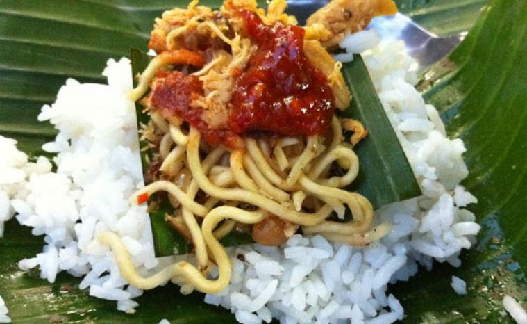 Makanan bali nasi jenggo