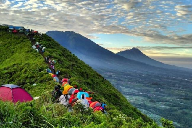 Highest Mountains in Indonesia