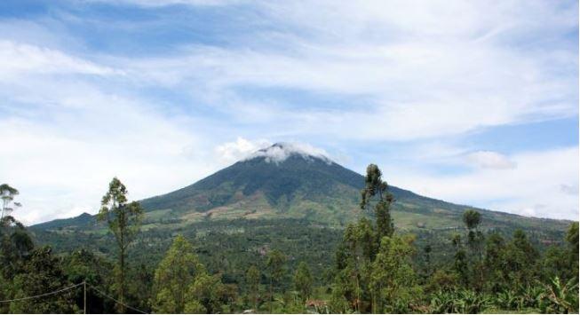 Gunung cikuray tertinggi