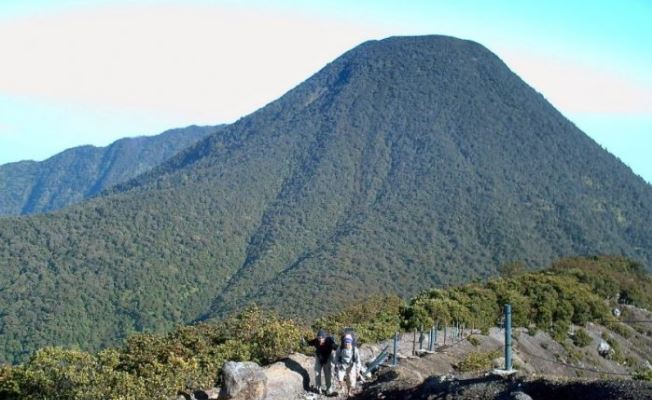 Gunung tertinggi pangrango