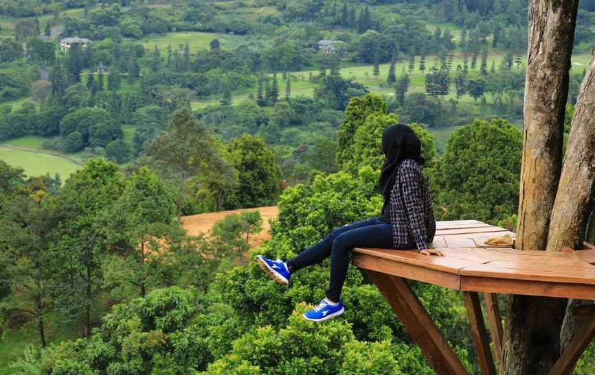 Bukit Katumbiri, Tourist destination in Purwakarta
