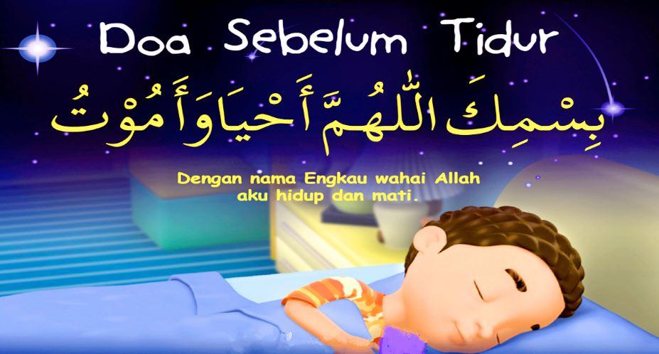 doa sebelum tidur lengkap
