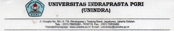Contoh kop surat universitas atau perguruan tinggi