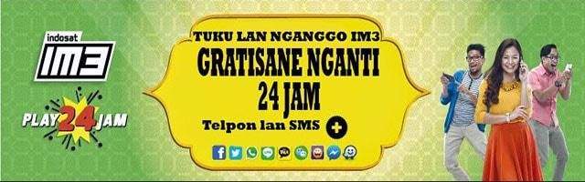 Iklan kartu perdana Indosat im3