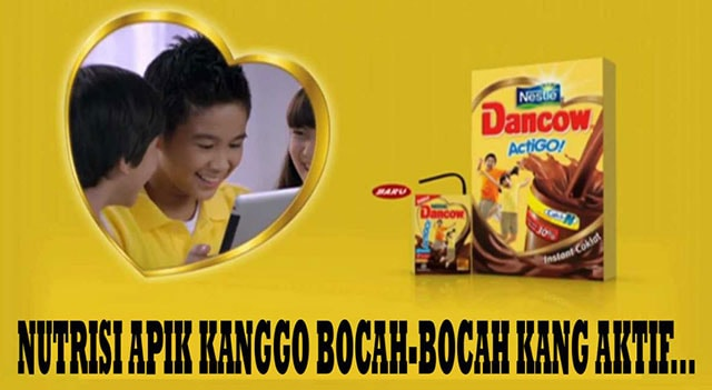 Iklan susu dancow bahasa Jawa