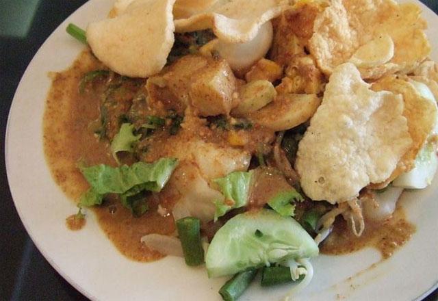 Gado gado makanan khas Indonesia