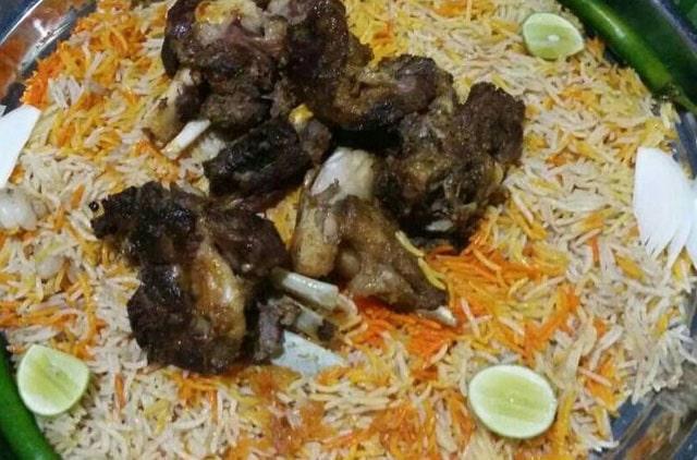 Nasi Mandi khas Arab Saudi