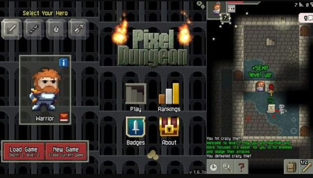 PIXEL DUNGEON,, game offline android terbaik