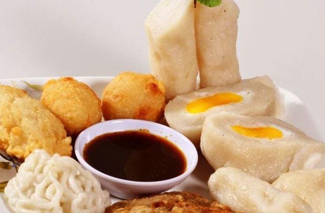 Pempek, food from Indonesia