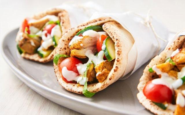 Shawarma makanan dari Arab Saudi