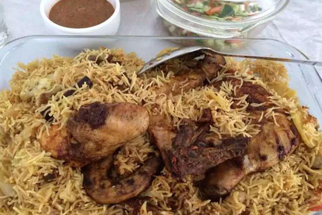 makanan khas arab nasi khabsah