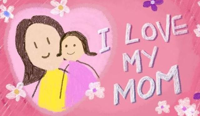 Gambar i love you mom