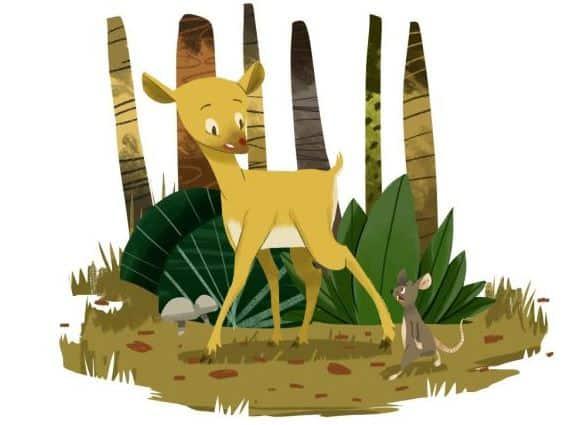 gambar ilustrasi hewan