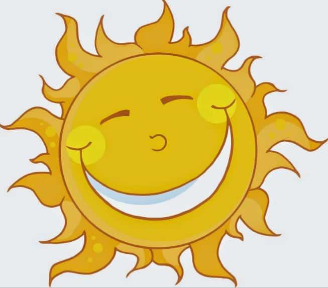 gambar animasi matahari