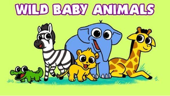 gambar kartun hewan lucu