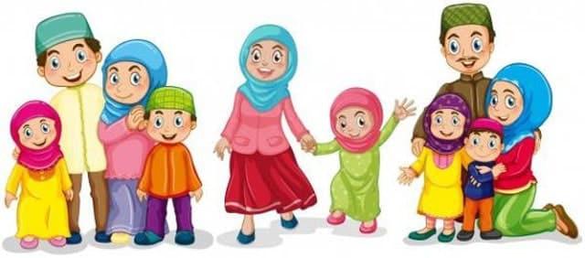 gambar keluarga kartun