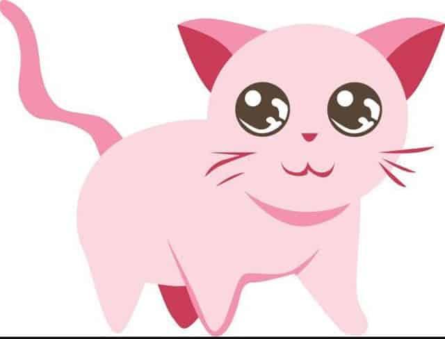 gambar kucing kartun