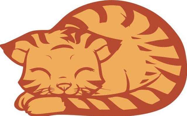 cartoon cat image