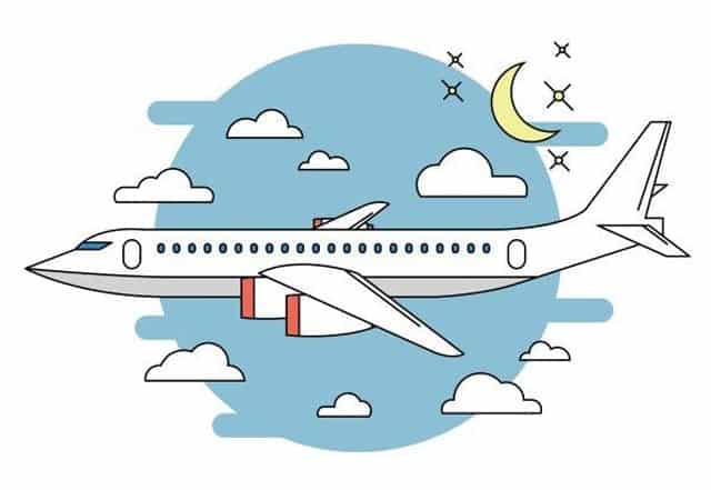 gambar kartun pesawat