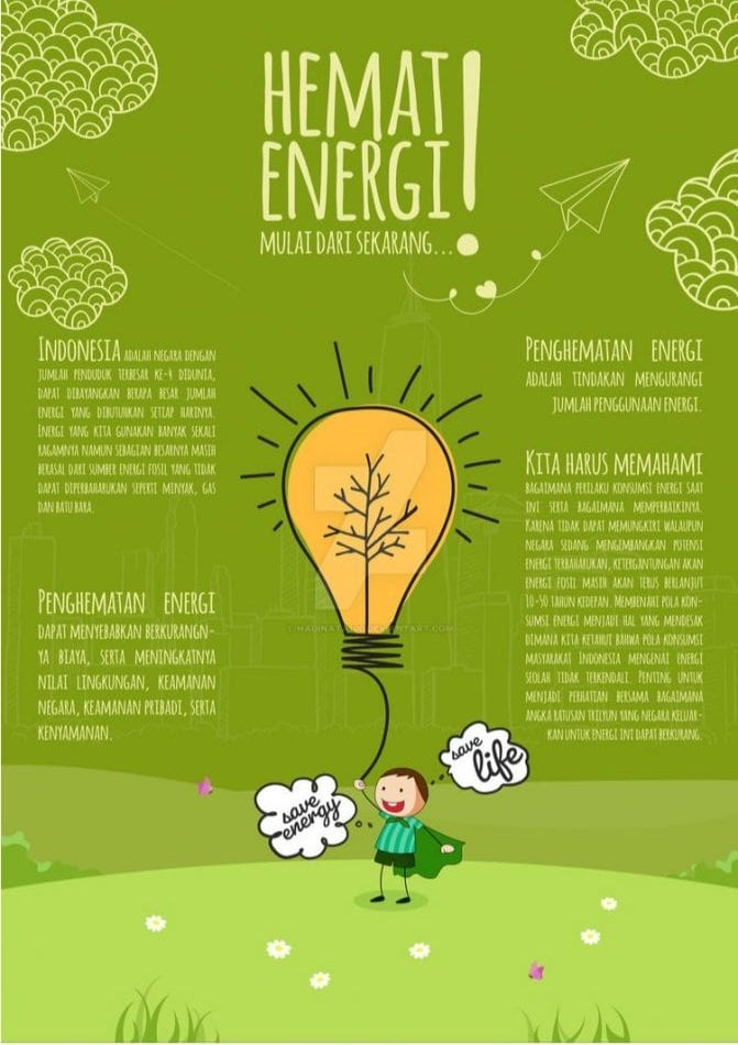 Energy Saving Posters