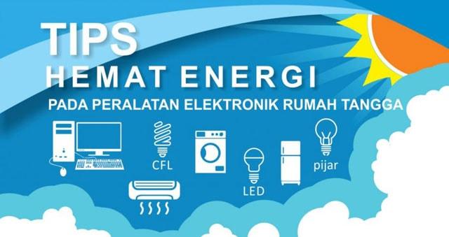 tips hemat energi, cara menghemat energi