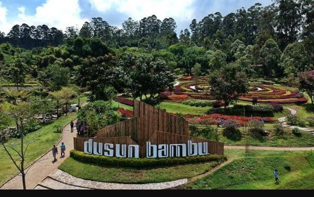 Taman wisata dusun bambu bandung barat