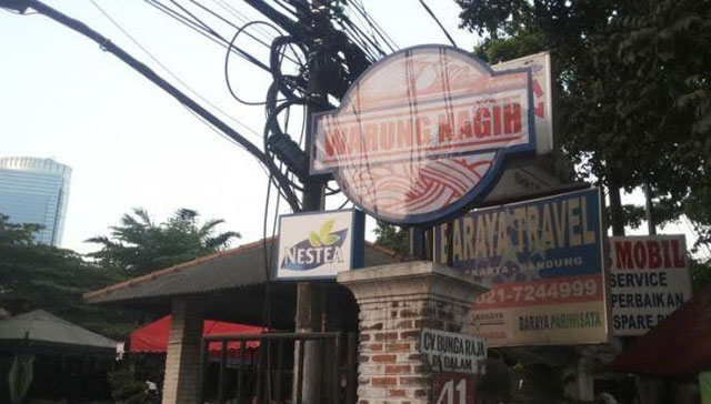 Warung Nagih, tempat hangout di jakarta