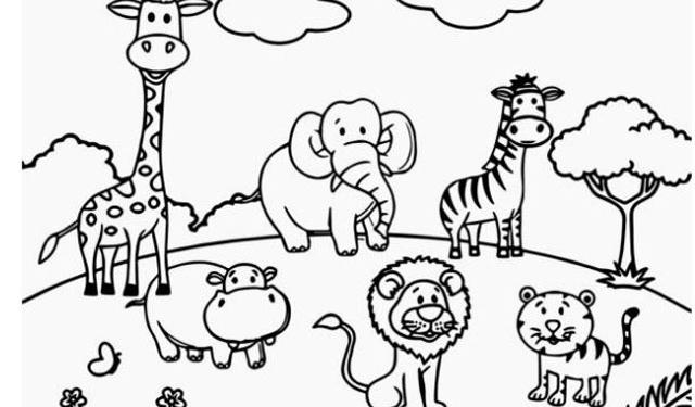 40 Gambar Mewarnai Untuk Anak Anak Serta Manfaat Mewarnai
