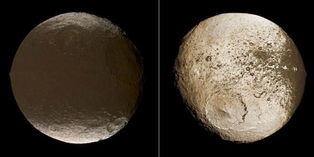 Iapetus, saturn's moon