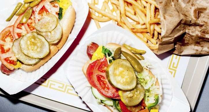 Chicago-style hot dogs, Best Food in Chicago