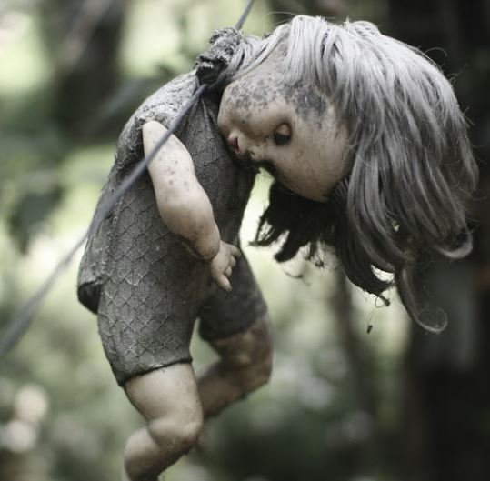 dolls island, the scariest place