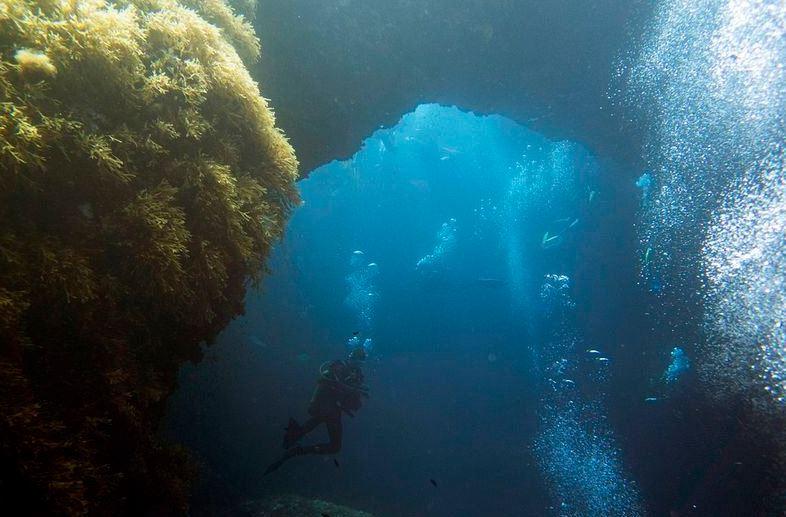 Blue Hole of Gozo