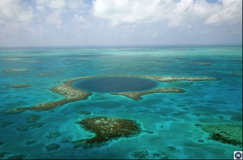 The Great Blue Hole of Belize