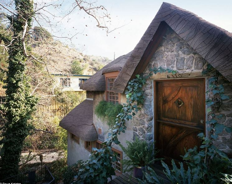 This Hollywoodland storybook style house