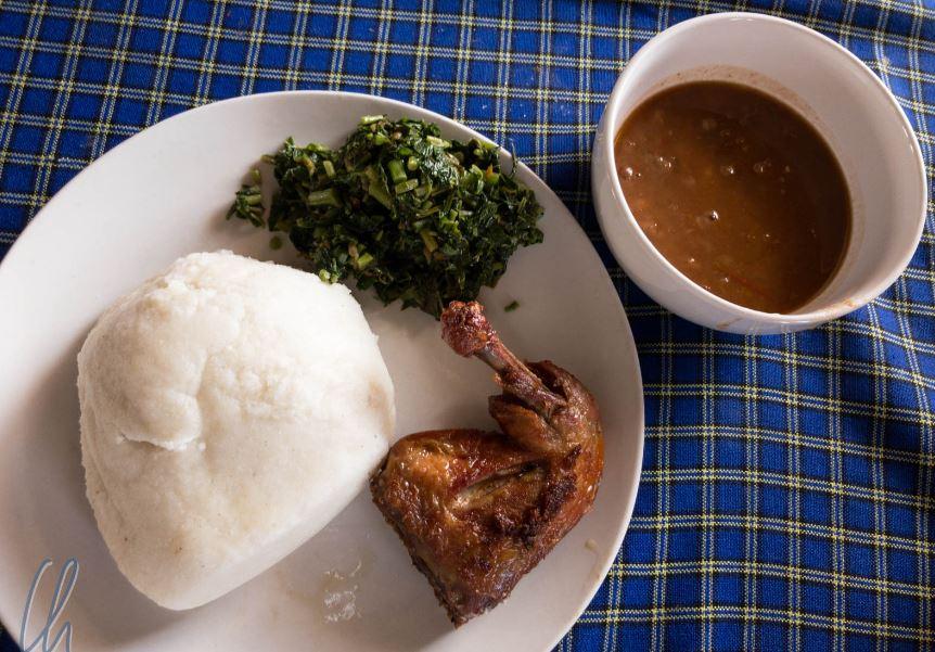 Ugali, food starts with U