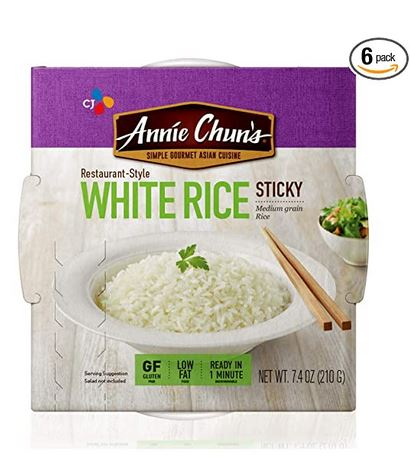 Annie Chun's Cooked White Sticky Sushi Rice