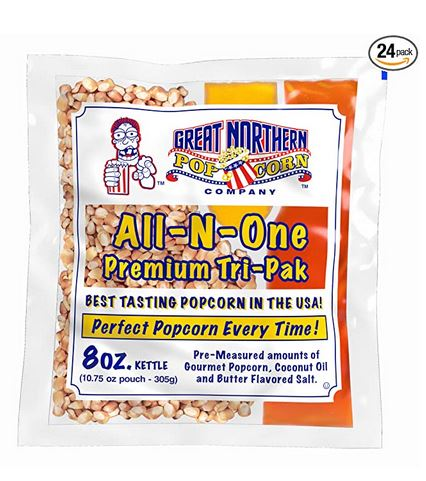 Great Northern Popcorn Premium 24 Pk- 8 Ounce