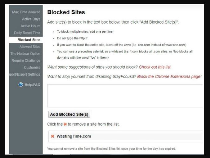 How to Block a site on Chrome