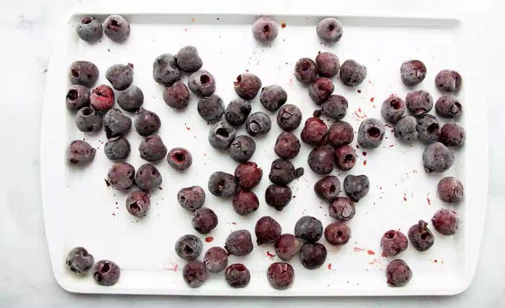 Teach me how you freeze cherries!