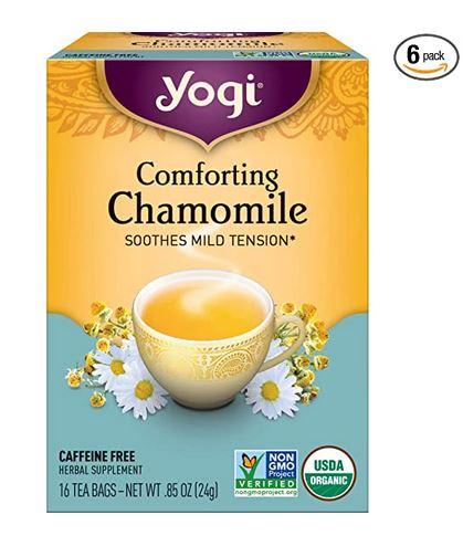 Yogi Tea Comforting Chamomile Tea Bags