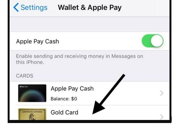 how to Removing Credit Card Details from Apple Pay
