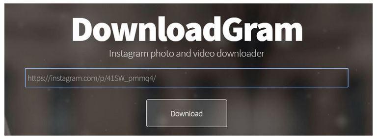 how to downloas instagram photos via downloadgram