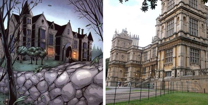 Bruce Wayne's Manor
