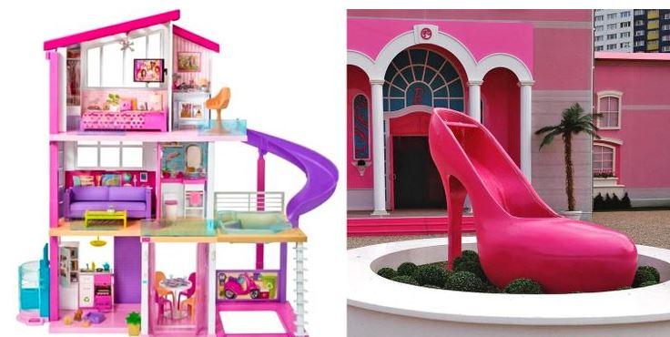 The Barbie house, cartoon house